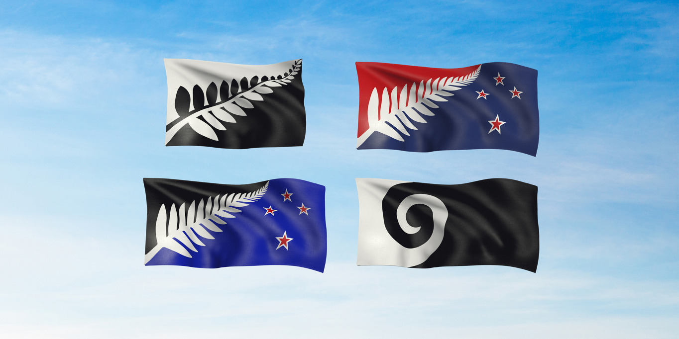 "The flags that should ""unmistakably be from New Zealand and celebrate us as a progressive, inclusive nation that is connected to its environment, and has a sense of its past and a vision for its future."""