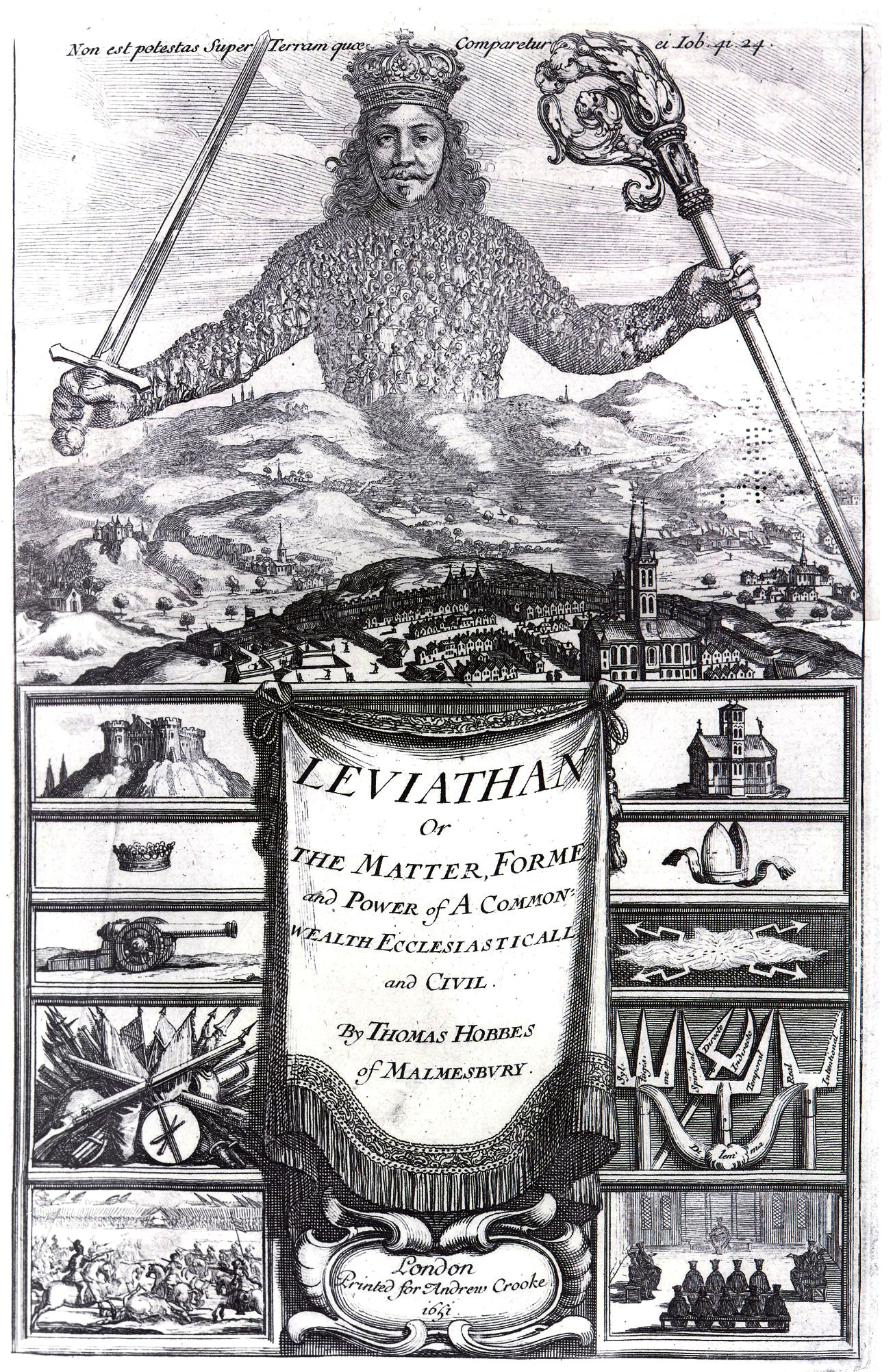 The Logic of Flags (Leviathan by Thomas Hobbes. Source: https://commons.wikimedia.org/wiki/File%3ALeviathan_by_Thomas_Hobbes.jpg)